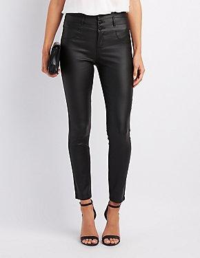 Refuge Coated Skinny Jeans