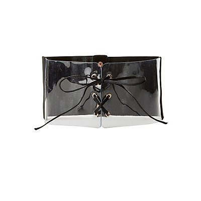 Plus Size Clear Corset Waist Belt