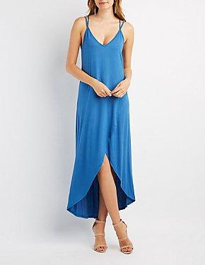 Strappy Tulip Maxi Dress