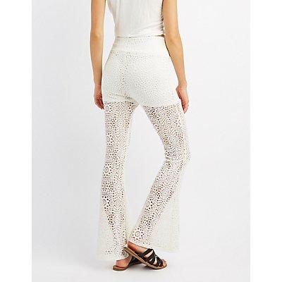 Crochet Flare Pants