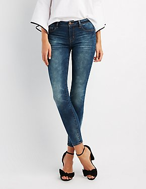 Refuge Low-Rise Skinny Jeans