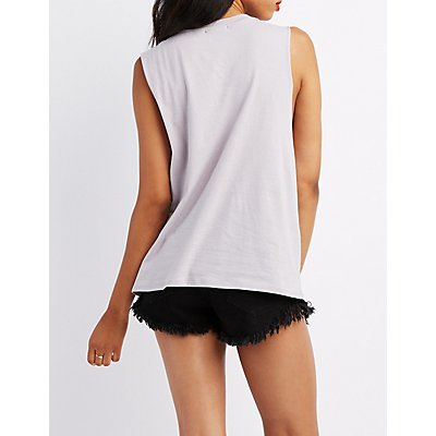 Eagle Graphic Muscle Tee