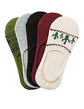 Assorted Desert Shoe Liners - 5 Pack
