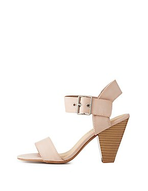 Two-Piece Slingback Sandals