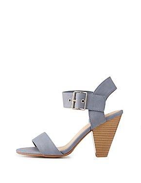 Two-Piece Slingaback Sandals