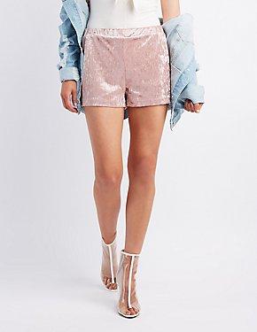 Velvet Flutter Shorts