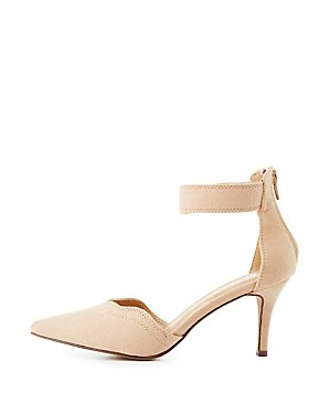 Bamboo D'Orsay Pointed Toe Pumps