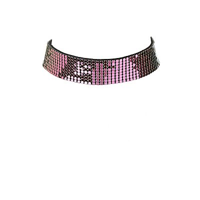 Chainmail Choker Necklace