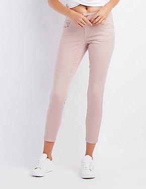 Refuge Cropped Skinny Jeans