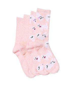 Cat Boot Socks - 2 Pack
