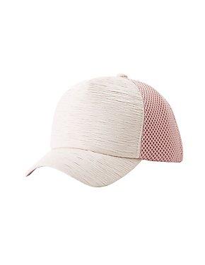 Textured Baseball Hat