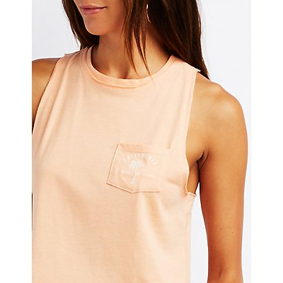 California Pocket Tank Top