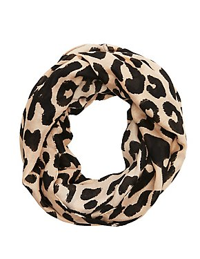 Leopard Infinty Scarf