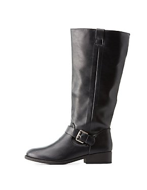 Boots: Knee-High, Lace-Up & Mid-Calf | Charlotte Russe