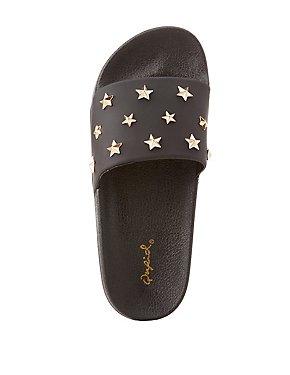 Star Studded Slide Sandals