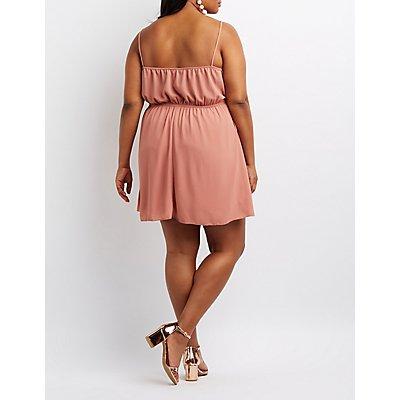 Plus Size Tulip Skater Dress