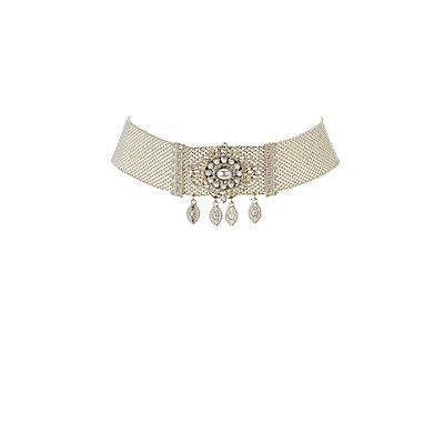 Brooch Choker Necklace