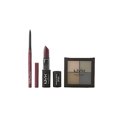 Mauve NYX Professional Makeup Go-To Goodies Set