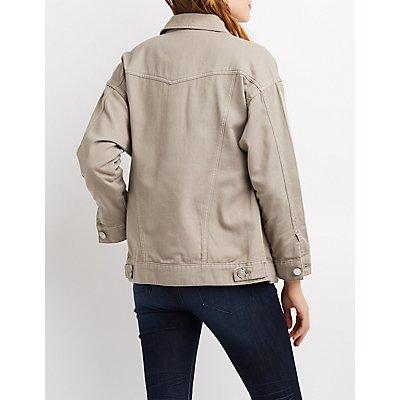 Refuge Destroyed Denim Jacket