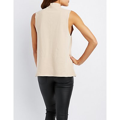 T-Strap Graphic Tank Top