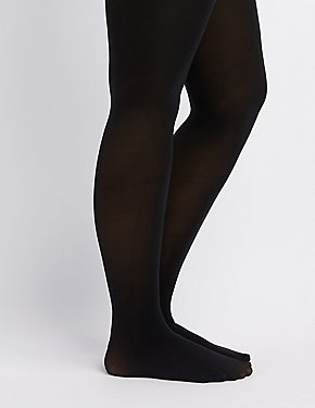 Plus Size Opaque Tights
