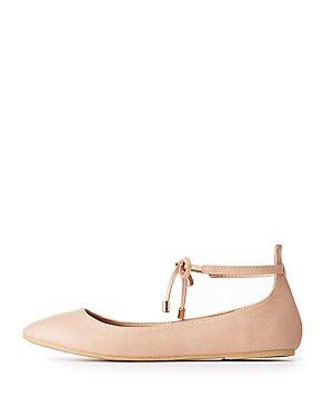 Ankle Strap Ballet Flats