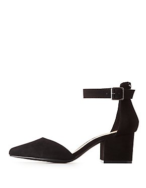 D'Orsay Pointed Toe Pumps