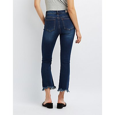 Machine Jeans Destroyed Flare Jeans