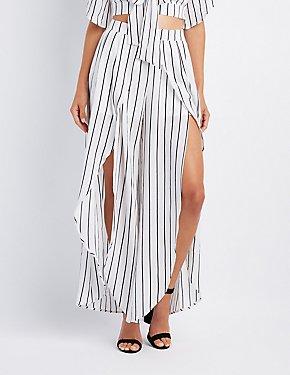 Striped Tulip Palazzo Pants
