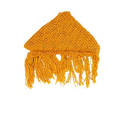 Chunky Open Knit Wrap Scarf