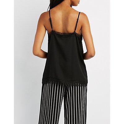 Lace-Trim Camisole Top