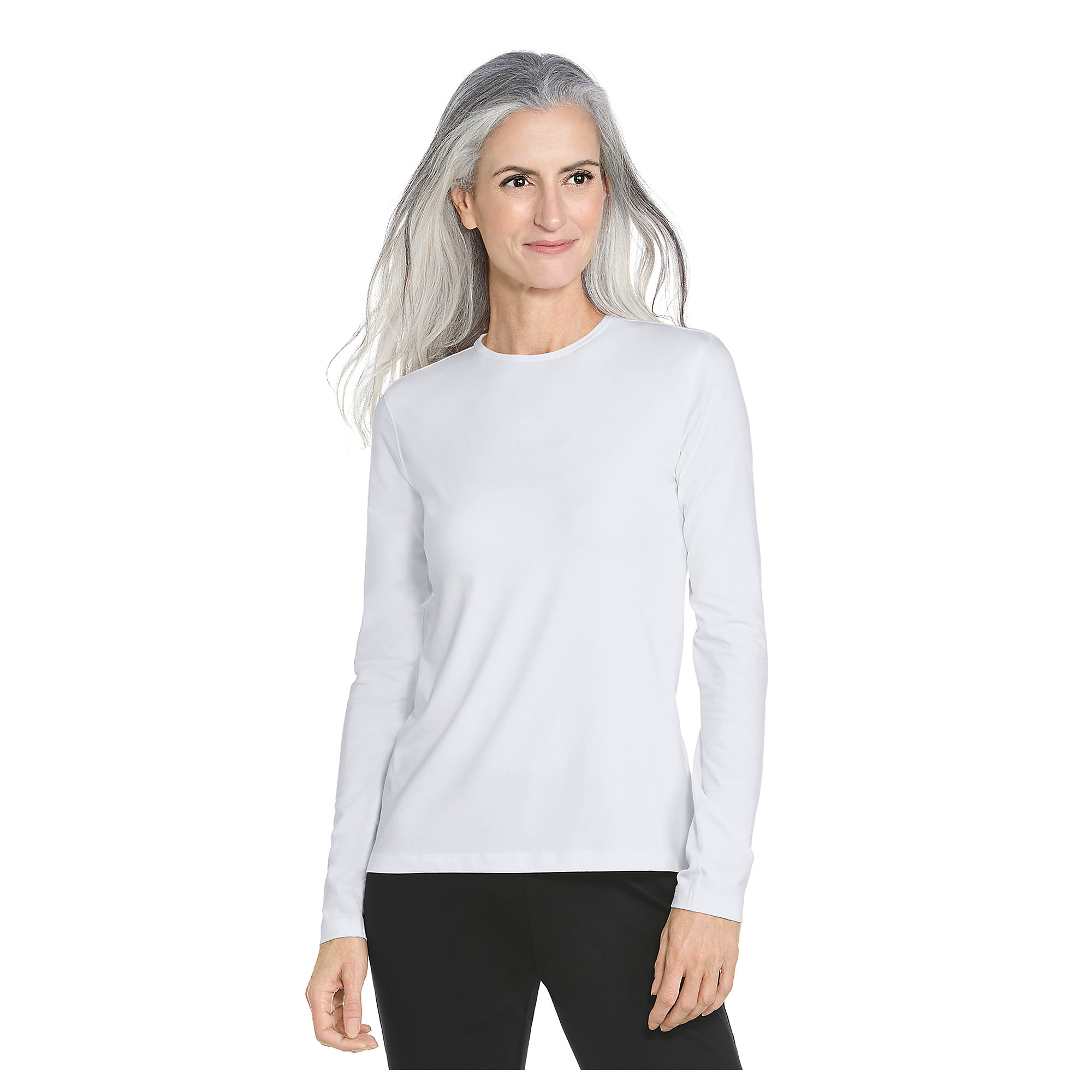 coolibar upf 50 women 39 s long sleeve t shirt sun
