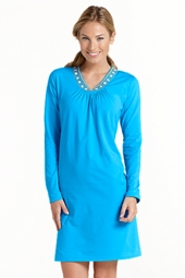 Beaded Beach Cover Up Dress
