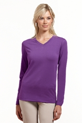 ZnO Long-sleeve V-Neck T-Shirt