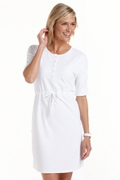ZnO Beach Henley Dress