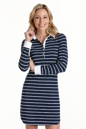 ZnO Polo Dress - Stripe