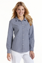 Summerweight Gingham Shirt