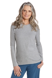 ZnO Long Sleeve V-Neck T-Shirt