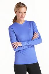 Long-Sleeve Cool Fitness Shirt
