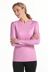 Long-Sleeve Cool Fitness Shirt