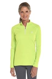 Cool Quarter-Zip Fitness Pullover
