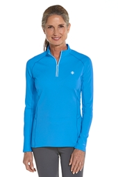 Cool Quarter-Zip Fitness Pullover