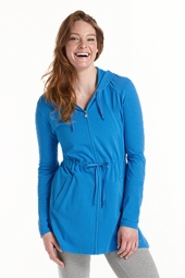 ZnO Full Zip Cover Up