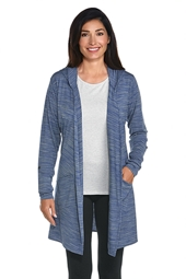 Merino Wool Open Cardigan