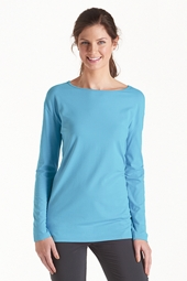 ZnO Long Sleeve Boatneck Tee