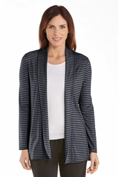 Open-Front Cardigan - Plus Size