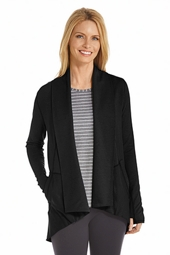Open Front Cardigan - Plus Size