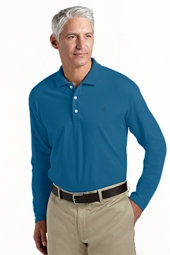 Tropical Weight Long-sleeve Polo