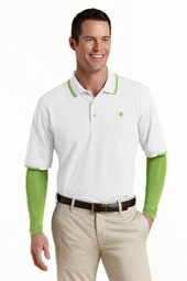 On Course Convertible Sleeve Polo