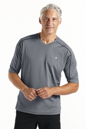 Short Sleeve Cool Fitness Shirt